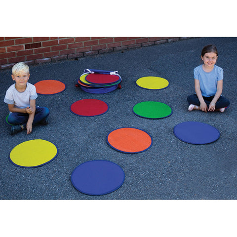Rainbow-Circle-Outdoor-Mats-pk-30