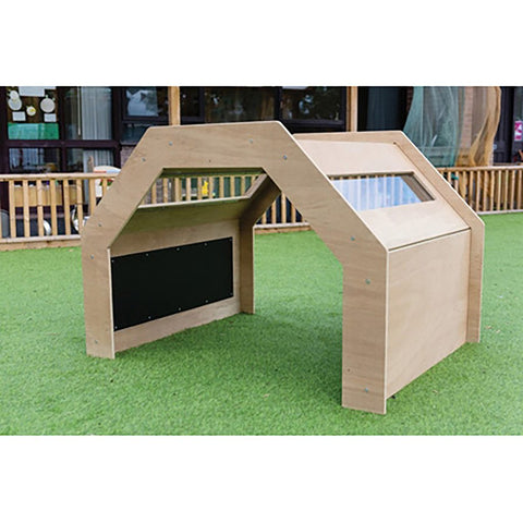 Outdoor Wooden Discovery Junior Tunnel