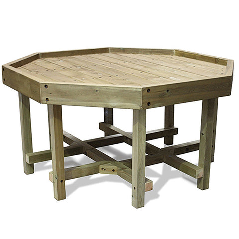 Outdoor Wooden Tuff Tray Stand (Tall)