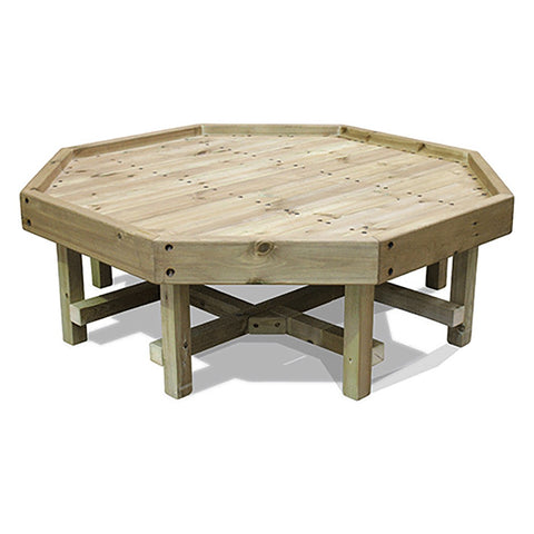 Outdoor Wooden Tuff Tray Stand (Short)