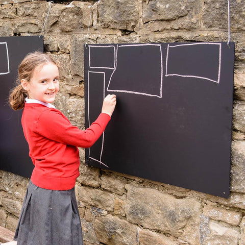 Rectangular Wooden Chalkboard