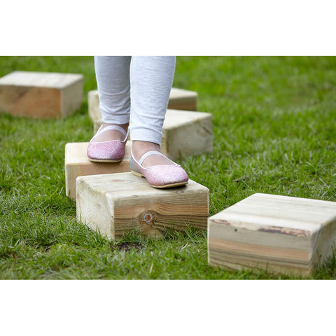 Wooden Stepping Blocks pk 4