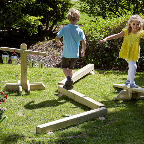 Outdoor Balance Beams