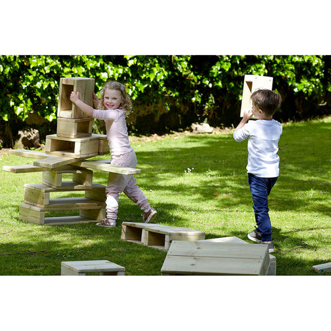 Outdoor Construction Block Set pk 22