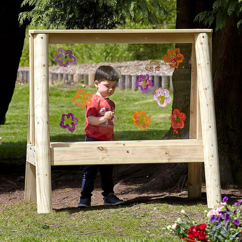 Outdoor Mark-Making Easel