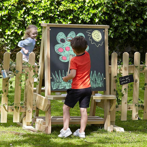 Outdoor 2-Sided Chalkboard Easel