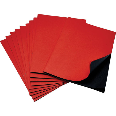 Scrapbooks-(Red/Black)-pk-50