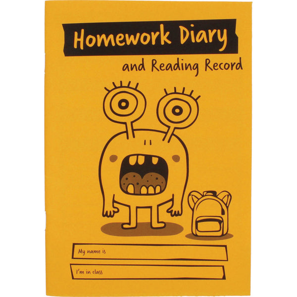 A5 Primary Homework Diary/Reading Record pk 30 – Springboard Supplies