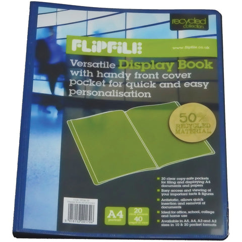 Flipfile-Display-Book---A4-(20-pockets)-