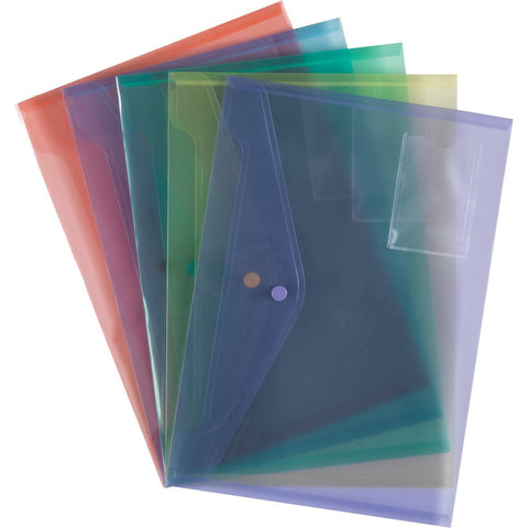 Plastic-Popper-Wallets-(Assorted)-pk-5