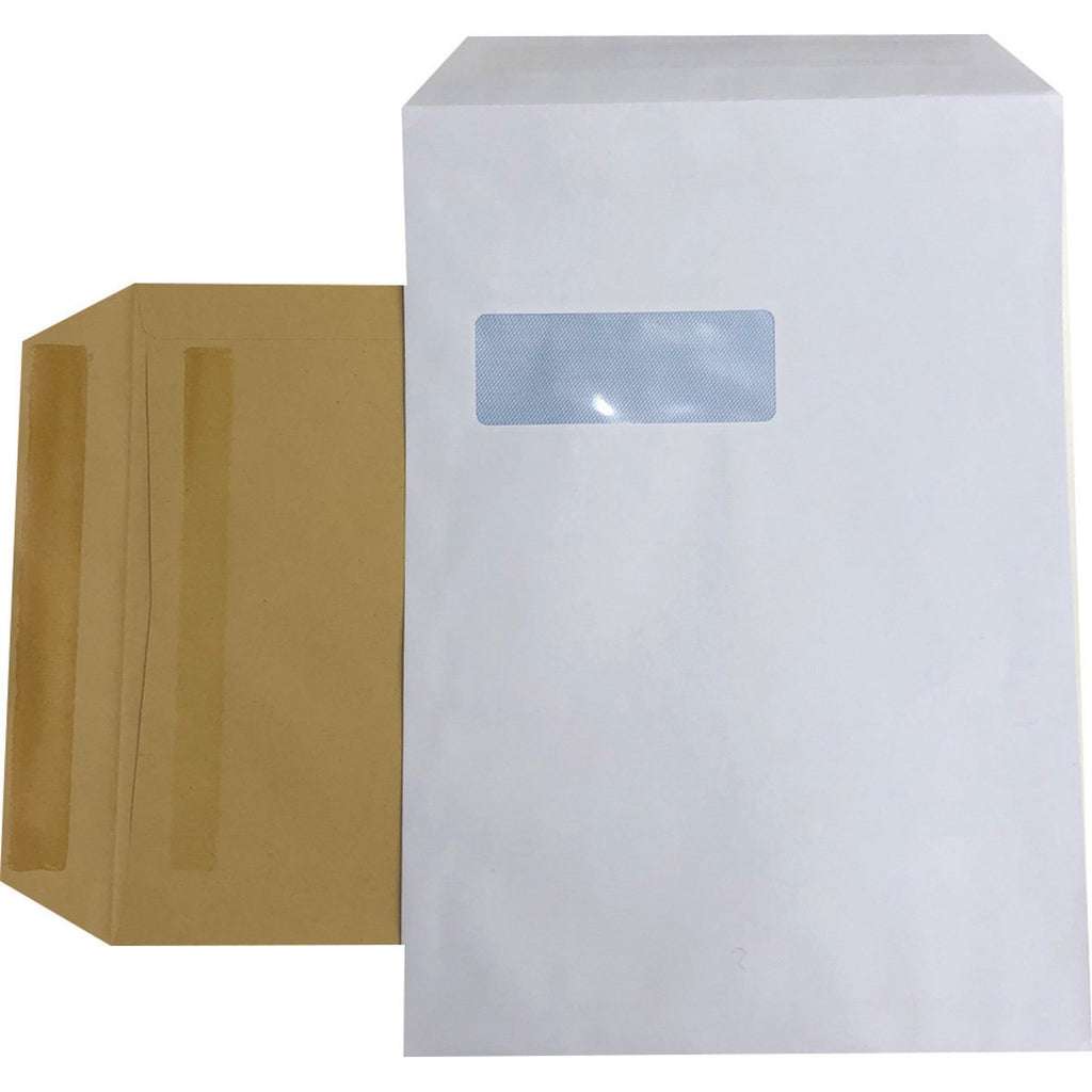 Manilla-Pocket-Self-Seal-C4-90gsm-Envelope-pk-250