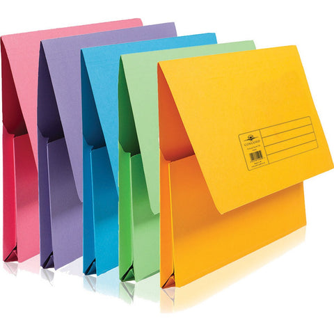 Foolscap-Document-Wallets-(Assorted)-pk-10