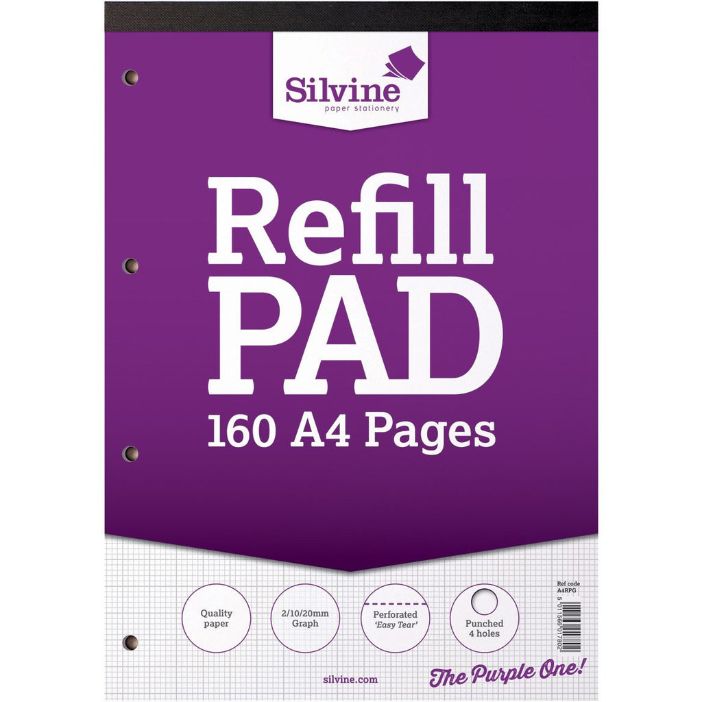 A4-Refill-Pad-(Graph-2,10,20mm)-pk-6