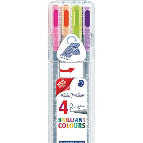 Staedtler-Triplus-Fineliner-(Marking-Colours)-pk-4