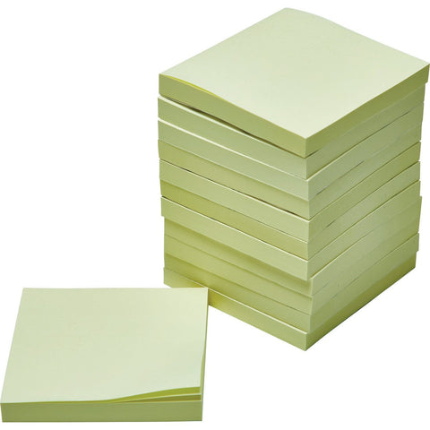Sticky-Notes-(Yellow)-76-x-76mm-pk-12