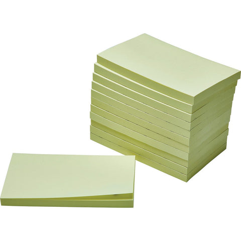 Sticky-Notes-(Yellow)-76-x-127mm-pk-12