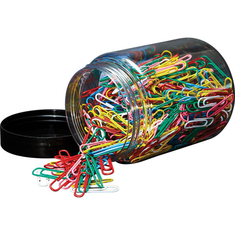 Paper-Clips-32mm-(Assorted)-Tub-pk-500