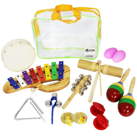 10-Piece Children's Percussion Pack
