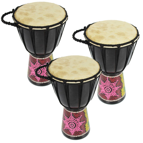 Mini Trio Djembe Drum Pack