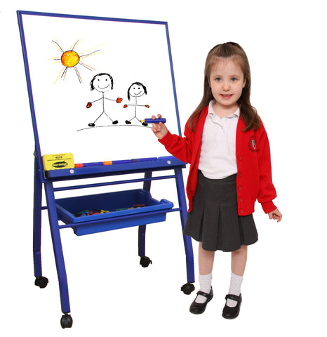 Little A-Frame Mobile Easel - Blue