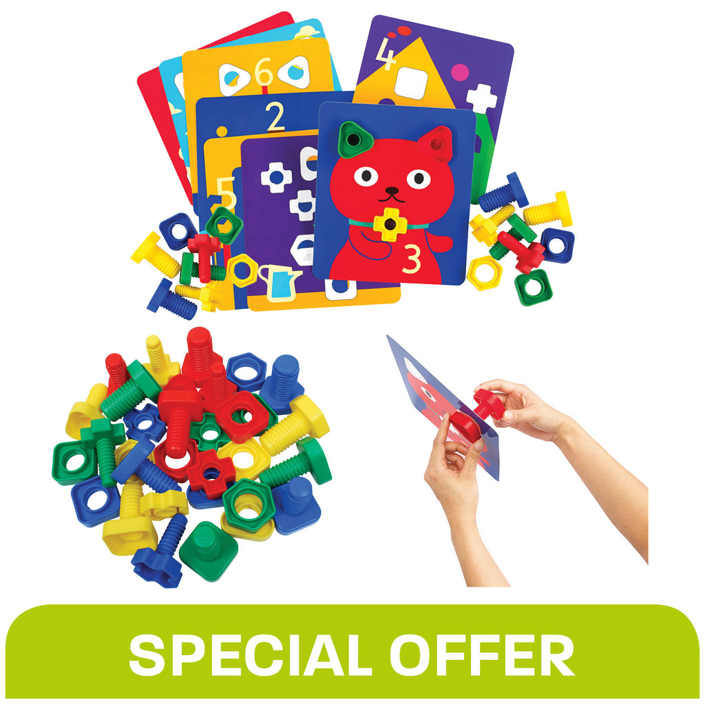 Nuts & Bolts / Activity Cards - Special Offer