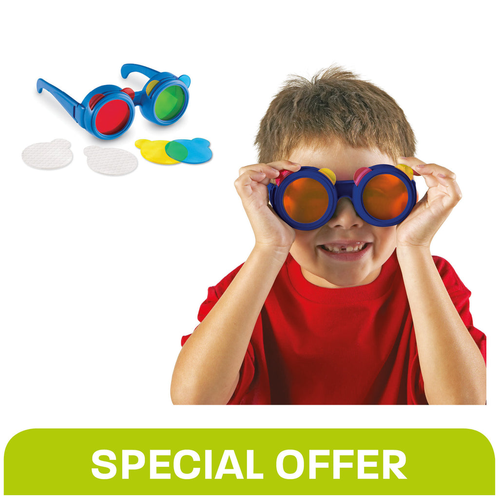 Colour Mixing Glasses - Special Offer