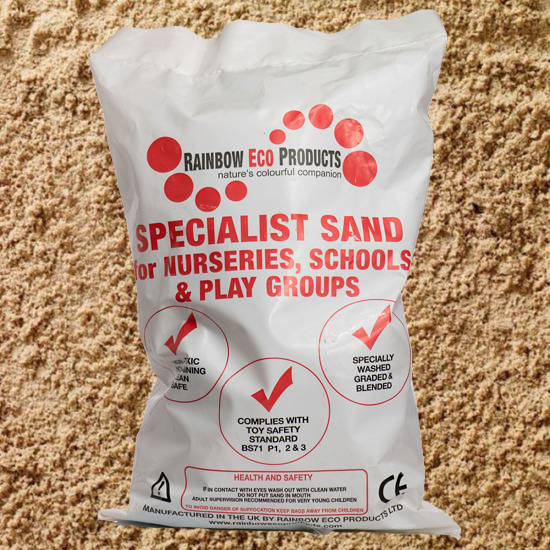 Children's Play Sand 20kg Bulk Bag