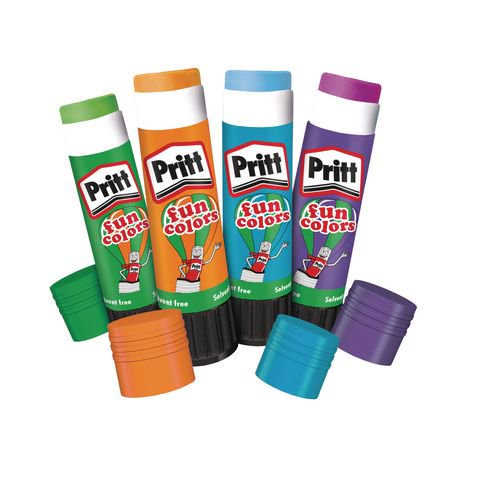 Pritt Sticks - Fun Colours 10g pk 24