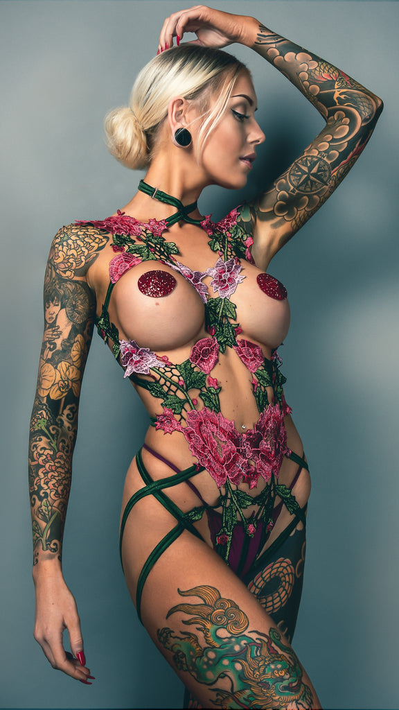 PERSEPHONE - Spring Flower Bodycage