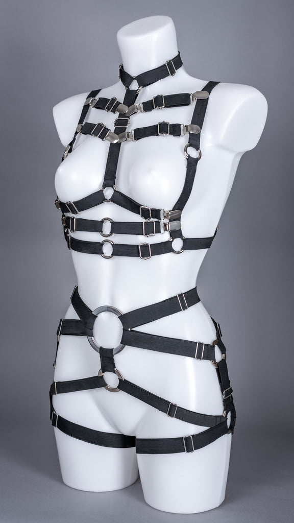 BULLETPROOF - Multi Way Strap Bra Harness Top