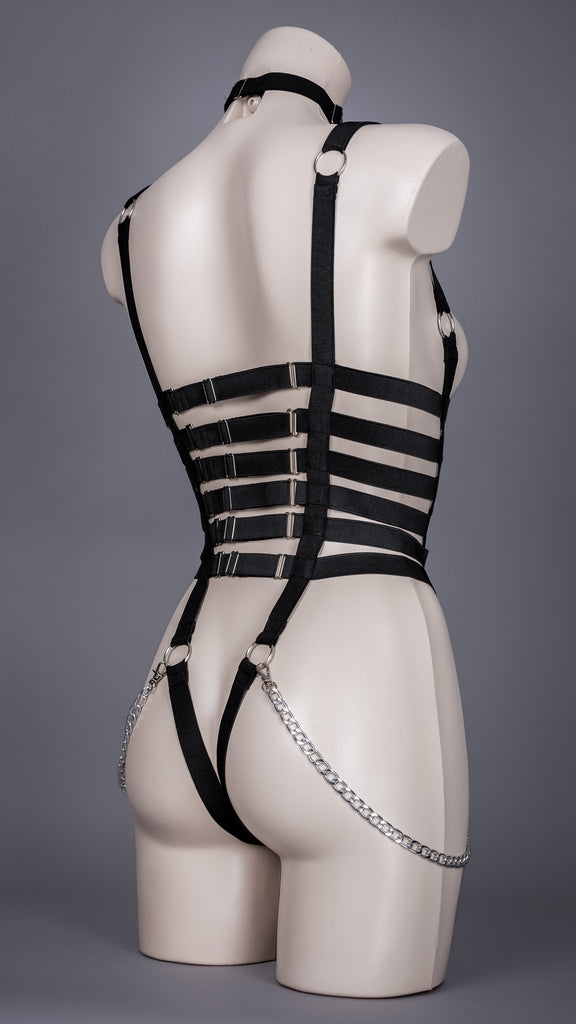 REBELLION - UK 6-8 Corset Strap Bodycage
