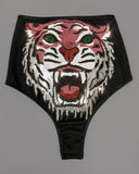 WILD THING - Pink Sequin Tiger Briefs