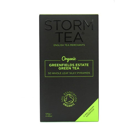 ORGANIC GREENFIELDS ESTATE GREEN TEA