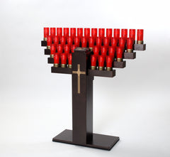 Catholic Church Votive LED Electronic Flickering Candle Stand