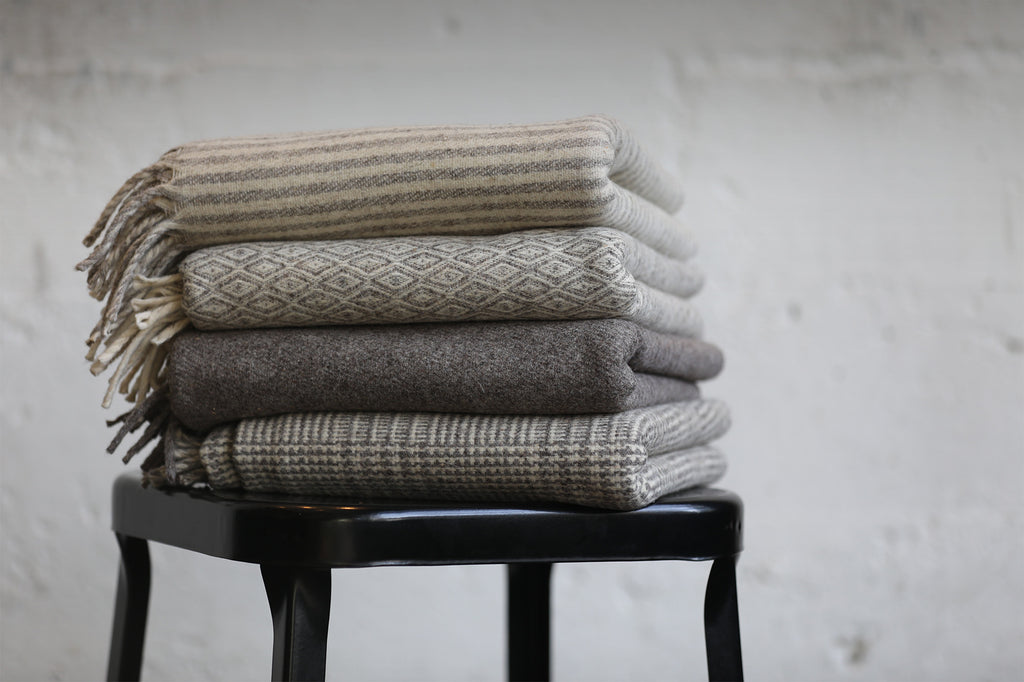 Wool Throw | Charcoal