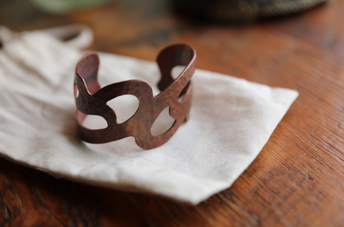 Olas Copper Cuff