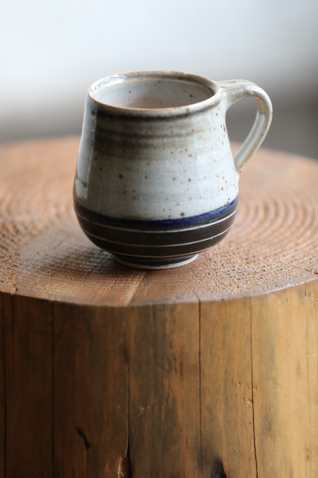 Carved Mug | Navy