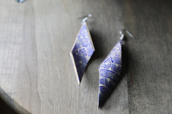 Alebrije Earrings | Azul