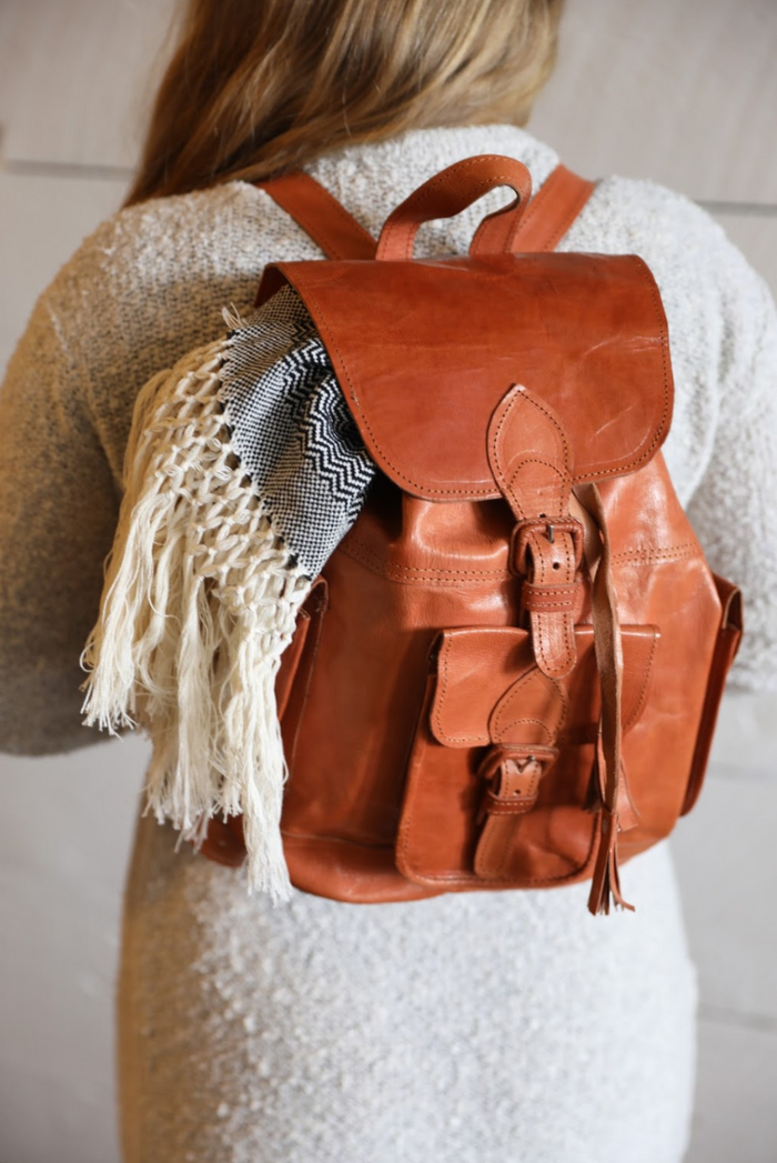 Sierra Madre Leather Rucksack