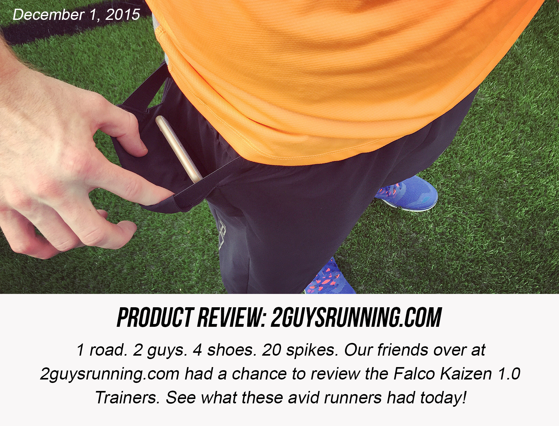 2 Guys Running Falco Sportswear Review | Running Shorts with Phone Pocket