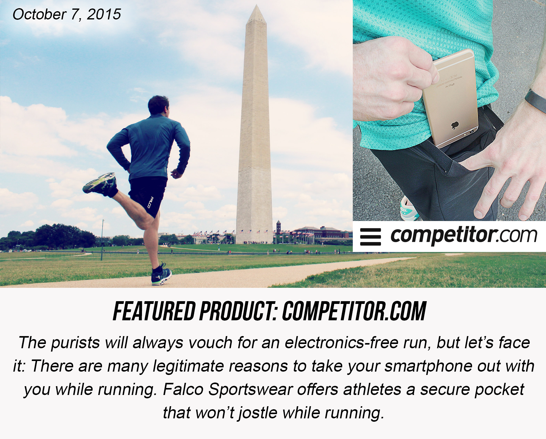 Competitor.com Falco Sportswear Review | Smartphone-Friendly Gear and Apparel