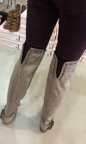 Belicia Over The Knee Suede Boot