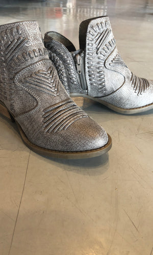 Grey Detailed Bootie