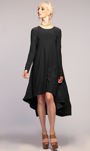 Black Hi Low Dress