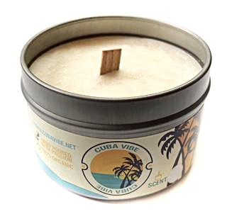 Cuba Vibe Travel Candle 6oz. Three pack