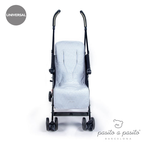 Petit Etoile Baby Pushchair Liner Blue