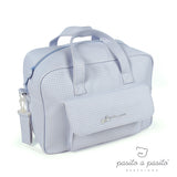 Petit Etoile Changing Bag & Mat Blue Gingham