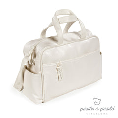 Cotton Baby Changing Bag Beige