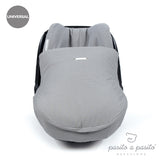 Verona Baby Car Seat Cover Grey Polka Dot