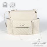 Ines Baby Changing Bag & Mat - Beige
